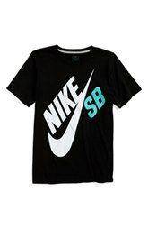 4ddf70c57 Nike 'SB Big Logo' T-Shirt (Big Boys) | Peyton's Board | T shirt ...
