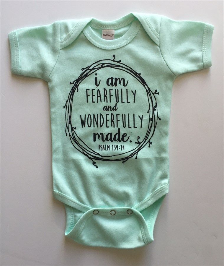 e22710f97db Oh I love this faith inspired graphic baby onesie bodysuit