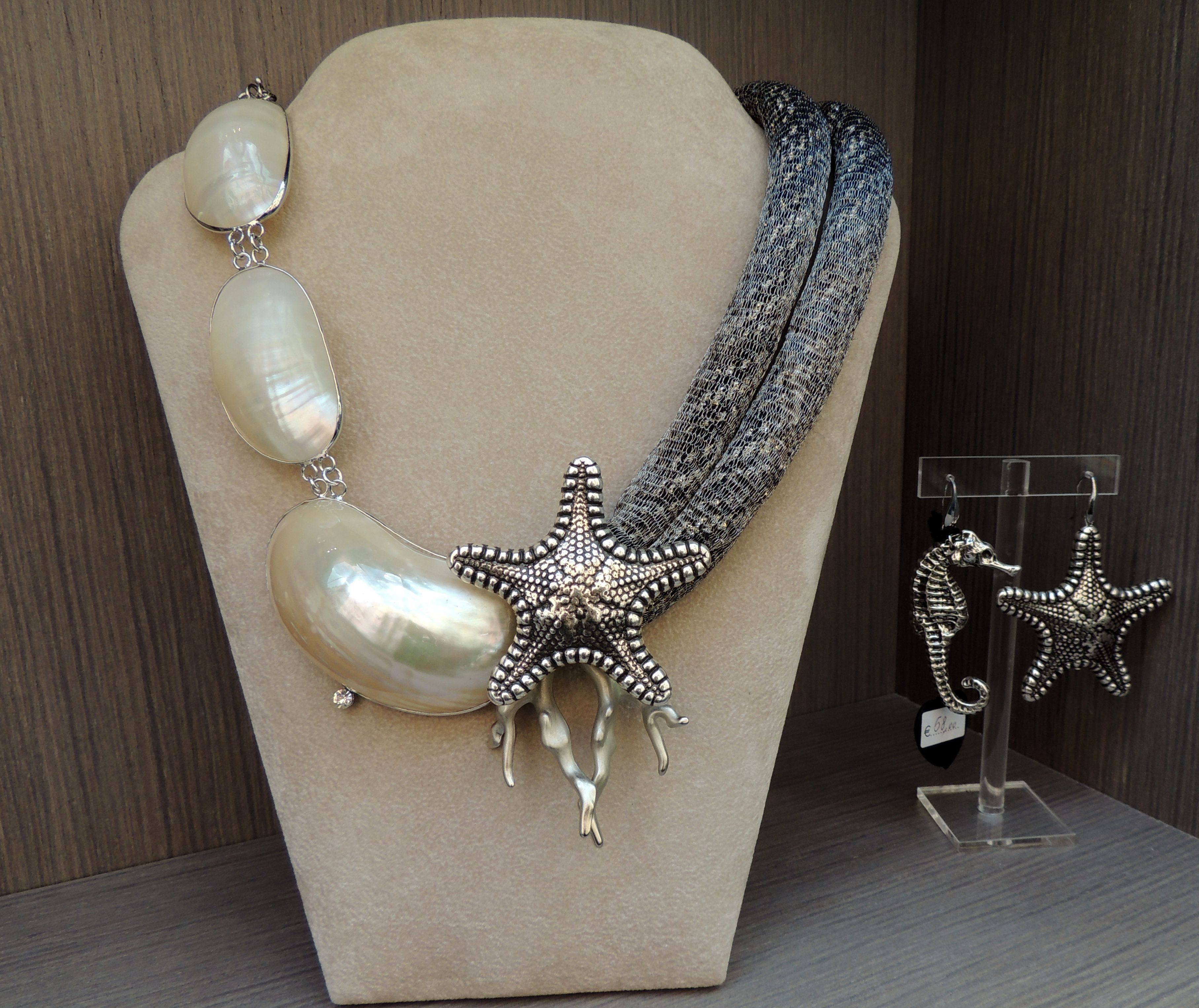 Pearls from the sea collection sea necklaces jewelry beaded jewelry e abalone jewelry - Collane di design ...