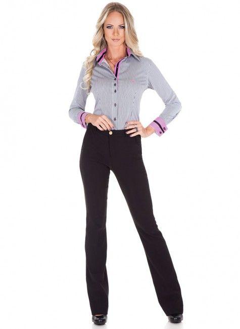 faf00e7bb calca social alfaiataria flare cintura media principessa fabiula look  completo comprar