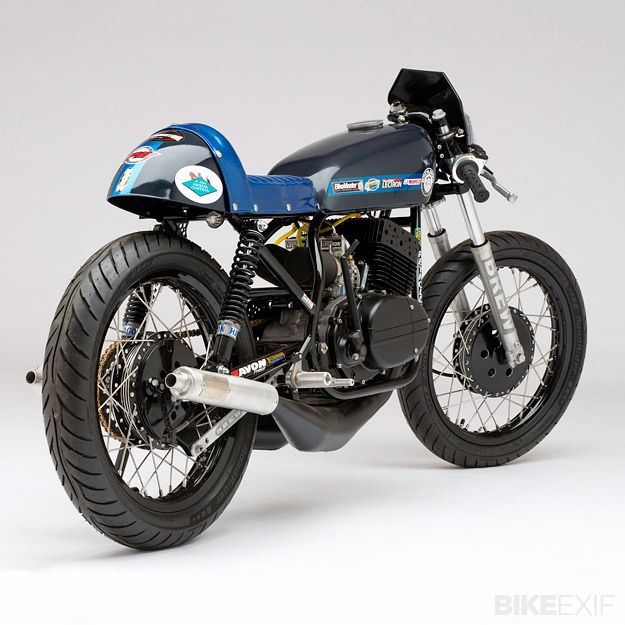 Rd350 Streak By Brew Bikes Cafe Racer