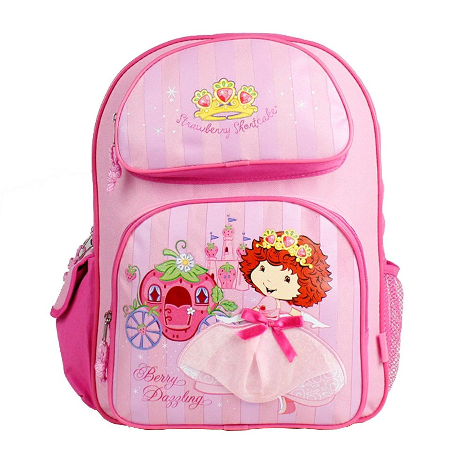 strawberry shortcake large 16 backpack princess you can find