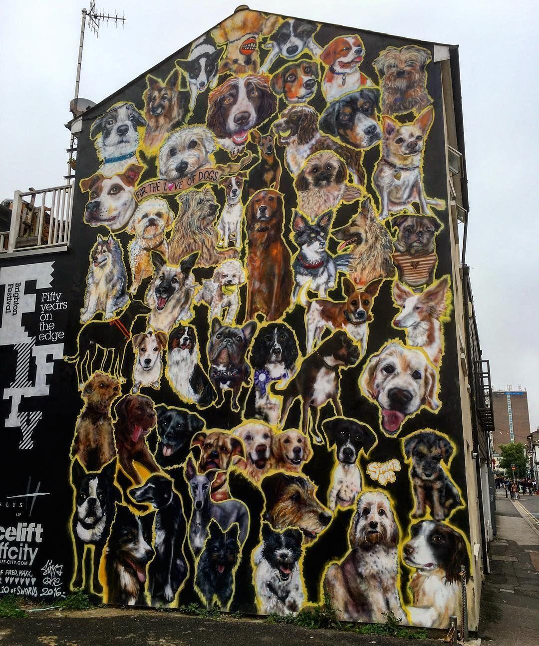 Instagram Photo By Hove9 Jun 12 2016 At 2 06pm Utc Amazing Street Art Street Art Animal Mural
