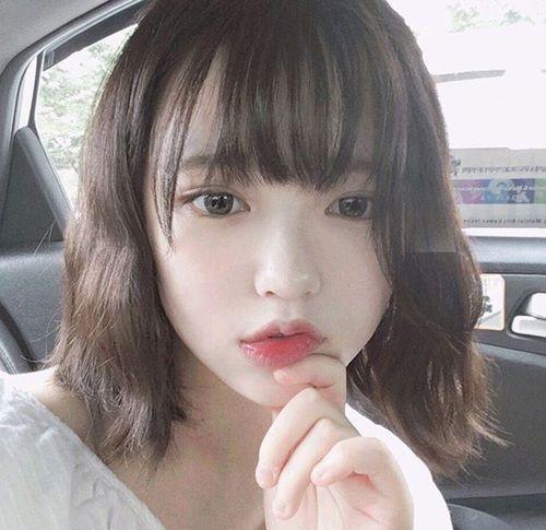 Épinglé par SUGA Eunwoo sur Ulzzang girl Cheveux courts