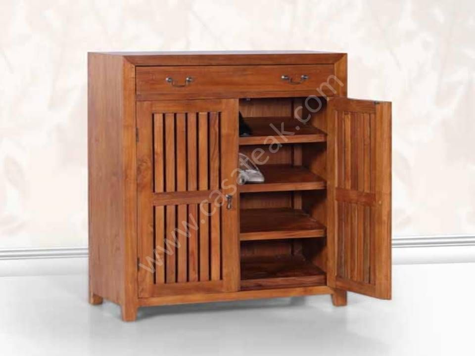Pin On Teak Wood Made Shoe Cabinets