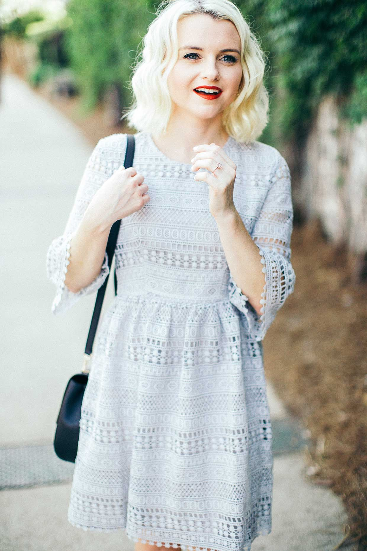 Latest lace dress styles 2018  Lace Dress in   Poor Little It Girl  On The Blog  Pinterest