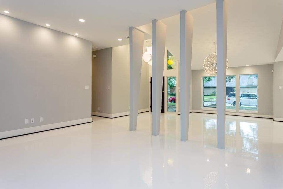 White Epoxy Flooring In Houston Floor Coatings Integrity Floors
