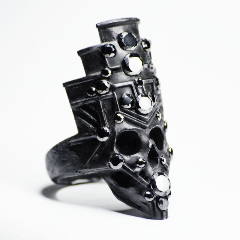Angulus Crown Ring By Macabre Gadgets Store Macabregadgets