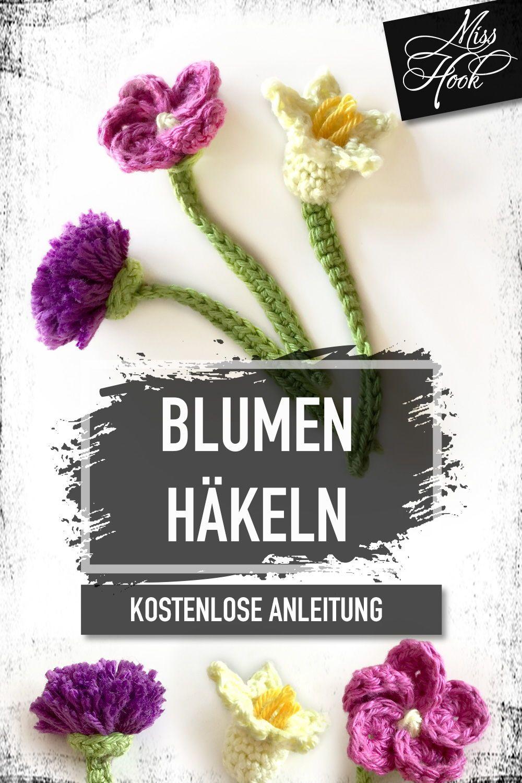 Kostenlose Häkelanleitung Blumen