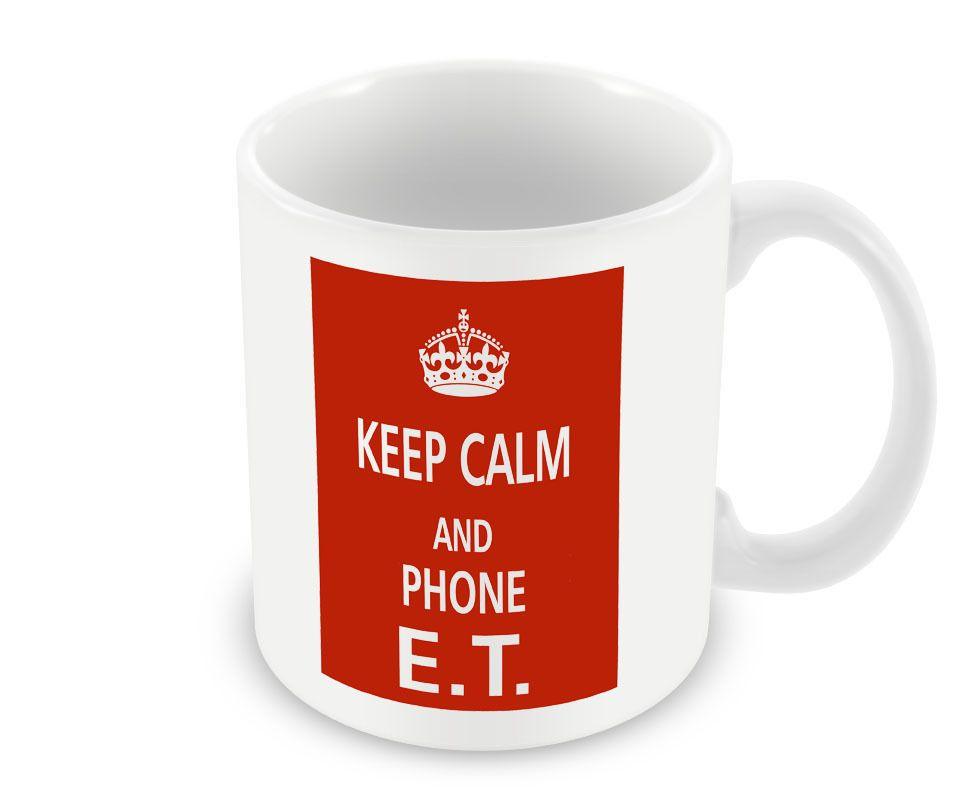 Keep Calm - And Phone E.T. (KeepCalm-273) Alien Extra Terrestrial Movie Film in Maison, Cuisine, arts de la table, Arts de la table | eBay