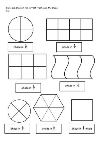 Equivalent fractions worksheets ks1