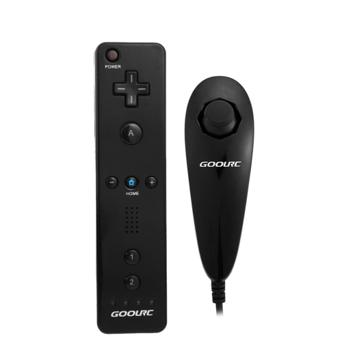 9 99 Watch Now Wired Nunchuck And Remote Controller For Nintendo Wii With Retail Package Black Wii Nintendo Wii Wii Remote