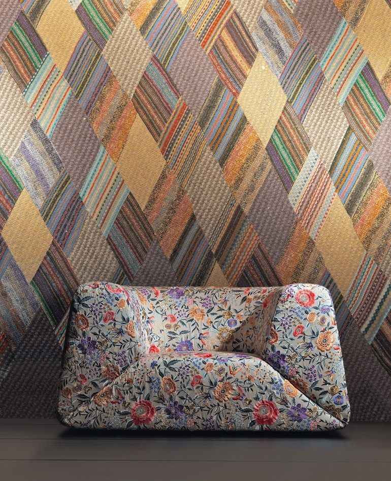 fb38b3598d4b9e Seating. Mini Gravita Armchair in Oriental Garden Fabric by Missoni ...