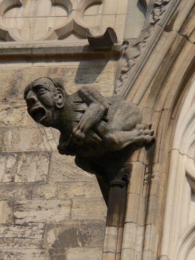 The Gargoyle Is One Of Key Characteristics Gothic Architecture