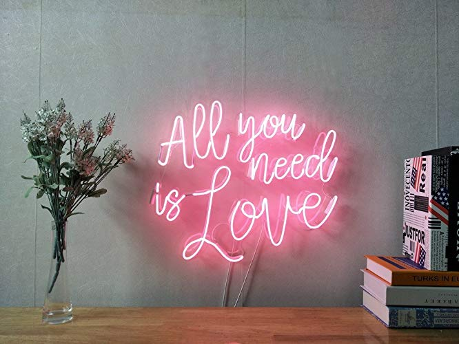 Here's to the Fools Who Dream Neon Sign White Etsy in