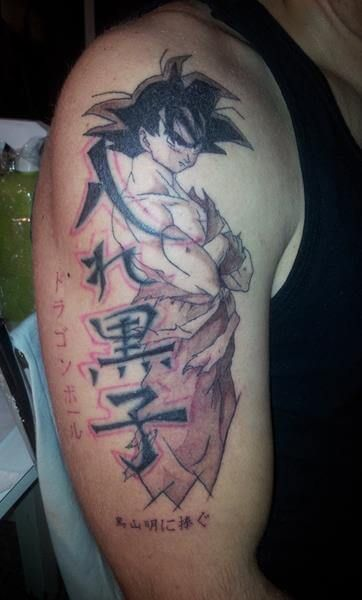 30 Dragon Ball Z Tattoos Even Frieza Would Admire The Body Is A Canvas Z Tattoo Tattoos Dragon Ball Tattoo