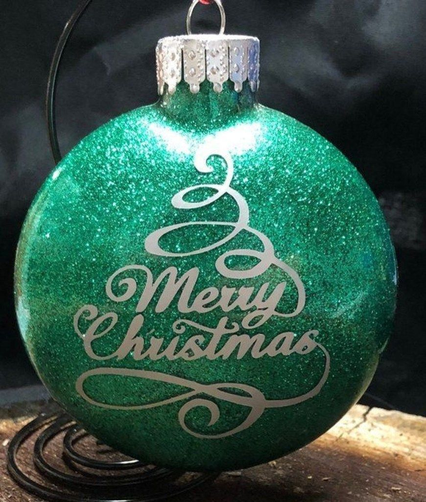 48 Attractive Christmas Balls Ideas is part of Christmas ornaments homemade, Diy christmas ornaments, Cricut ornaments, Vinyl christmas ornaments, Christmas ornament crafts, Christmas balls - Going through this economic time, it will be a great alternative to make the organic Christmas tree crafts by ourselves, […]