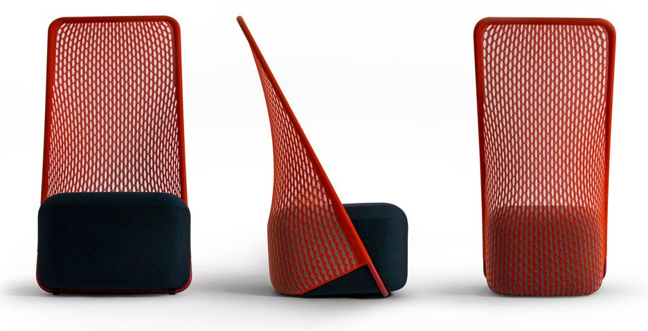 Cradle chair by Layer for Moroso
