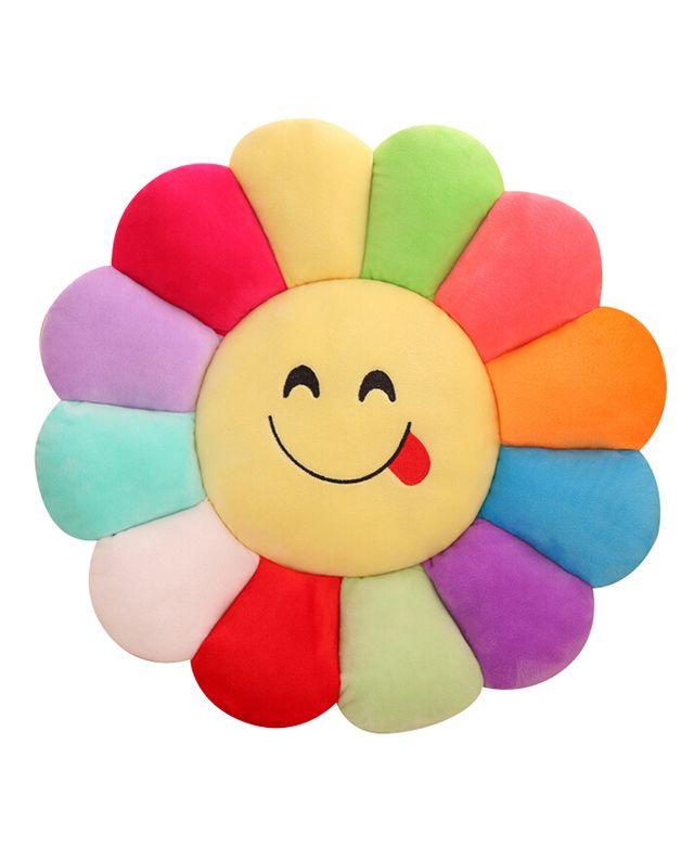 Cartoon Sunflower Cushion
