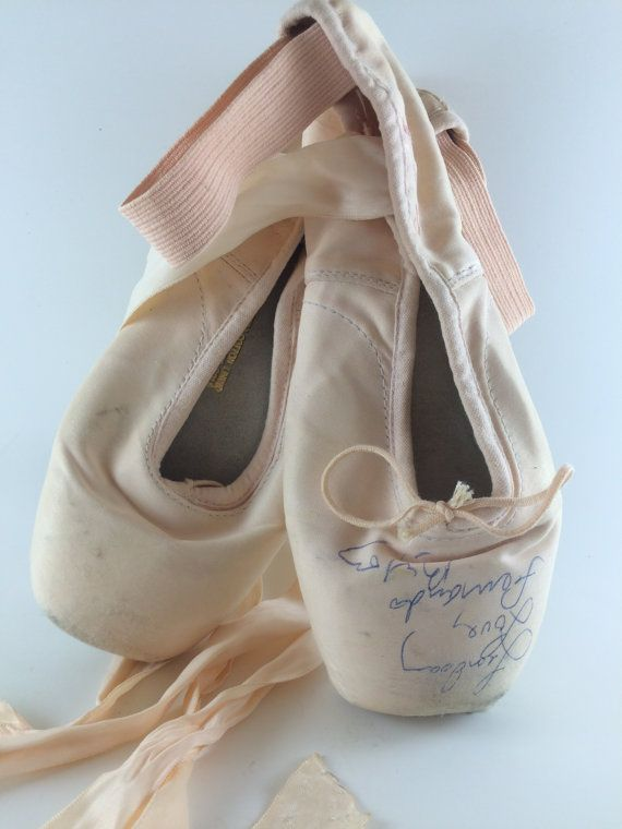 Beautiful Bloch Pointe Shoes Signed ByFamous Dancer Fernando Bujones From RubyLavender