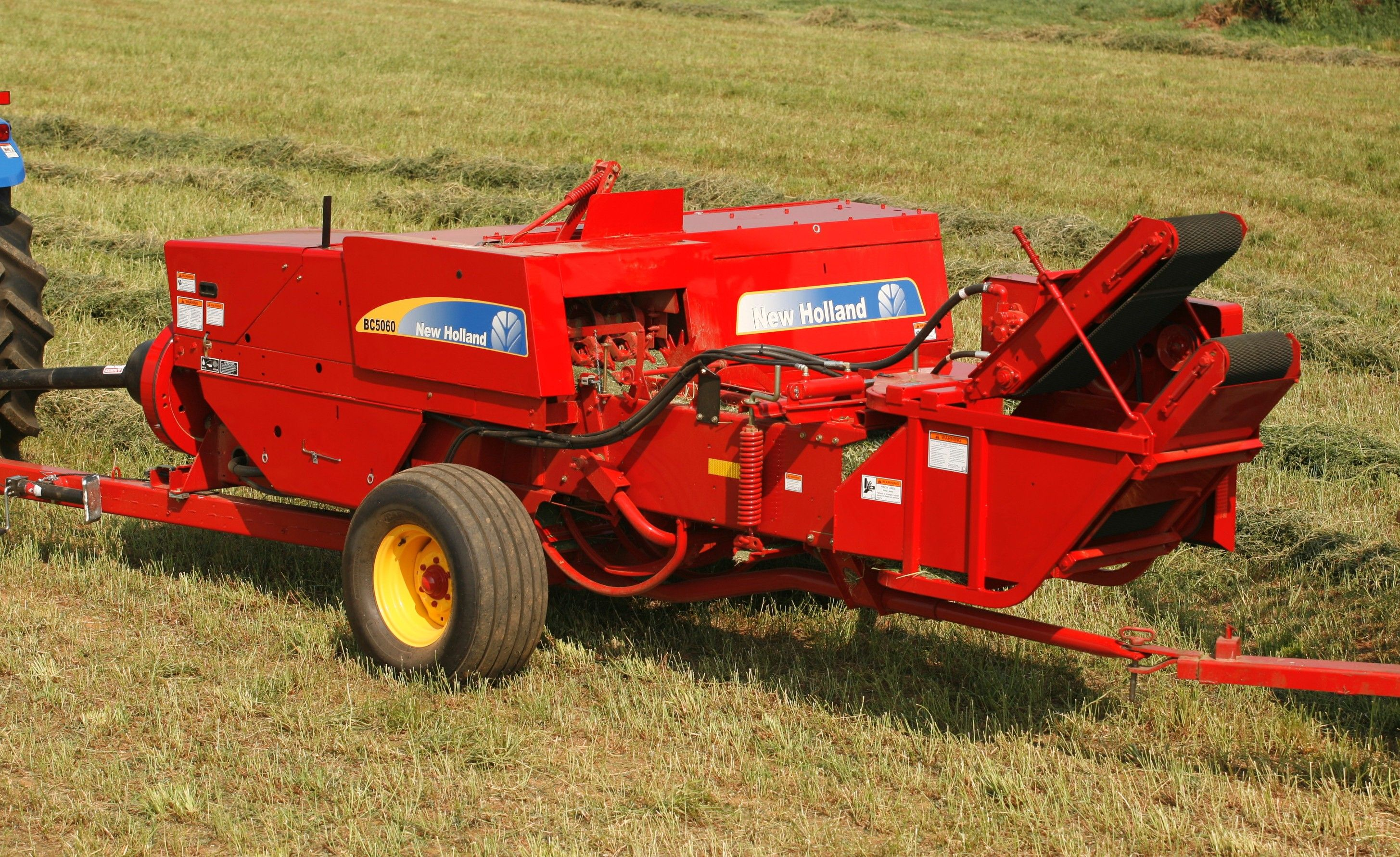 Nh Square Baler New Holland Agriculture Farm Machinery New