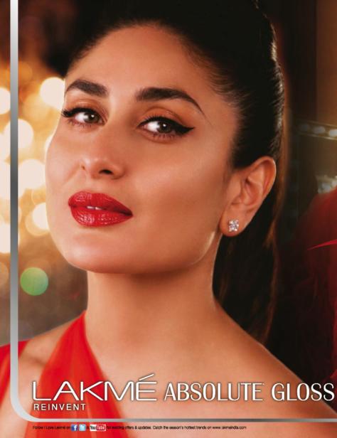 Kareena Kapoor - Krmz  Kareena Kapoor, Red Lip Makeup