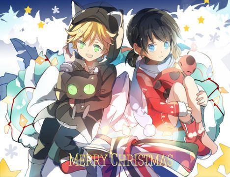 Will they fall in love?(Miraculous Ladybug ) - Christmas