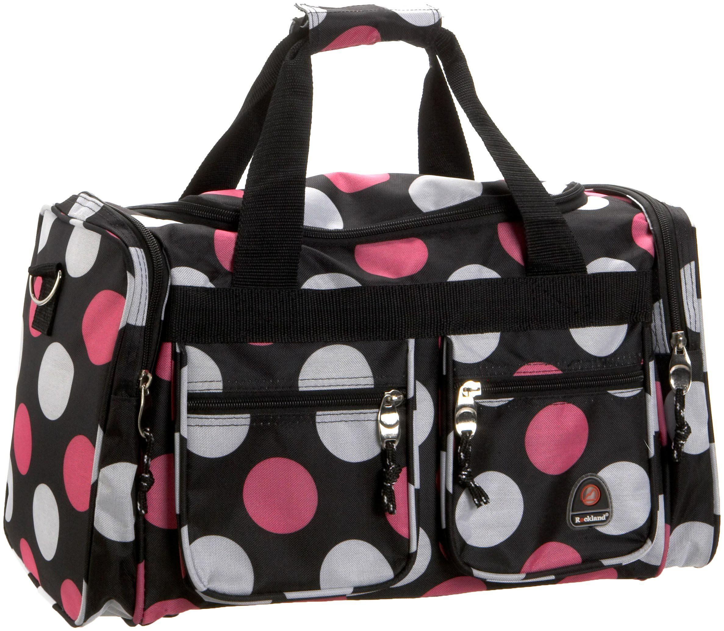 43985d4d05 hospital bag - Rockland Luggage 19 Inch Tote Bag Multi Pink Dots One Size      Click image to examine even more information. (This is an affiliate  link).