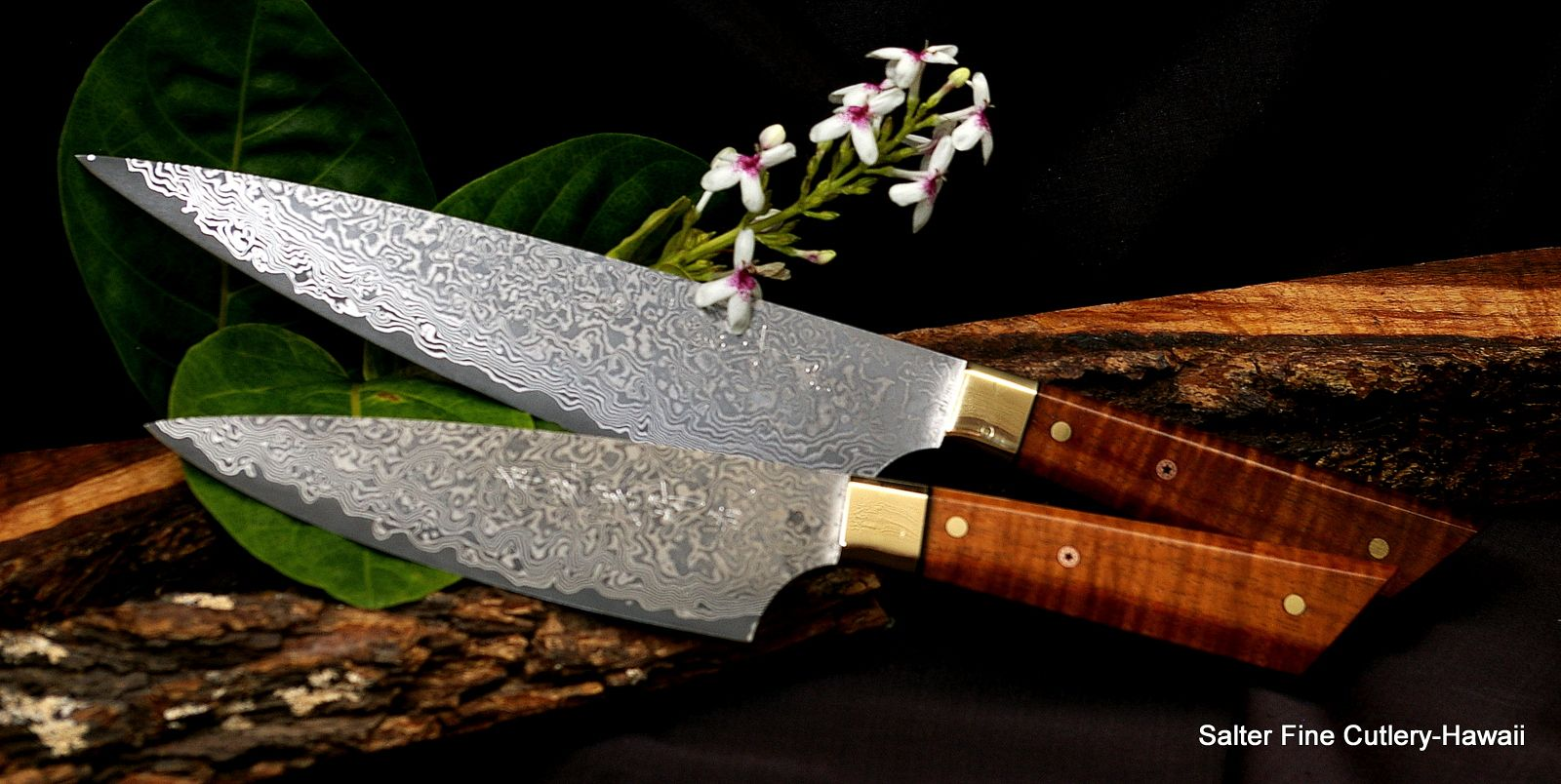 hand forged japanese kitchen knives custom order chef knives vg10 japanese quot french fusion quot hand forged stainless steel blades 4326