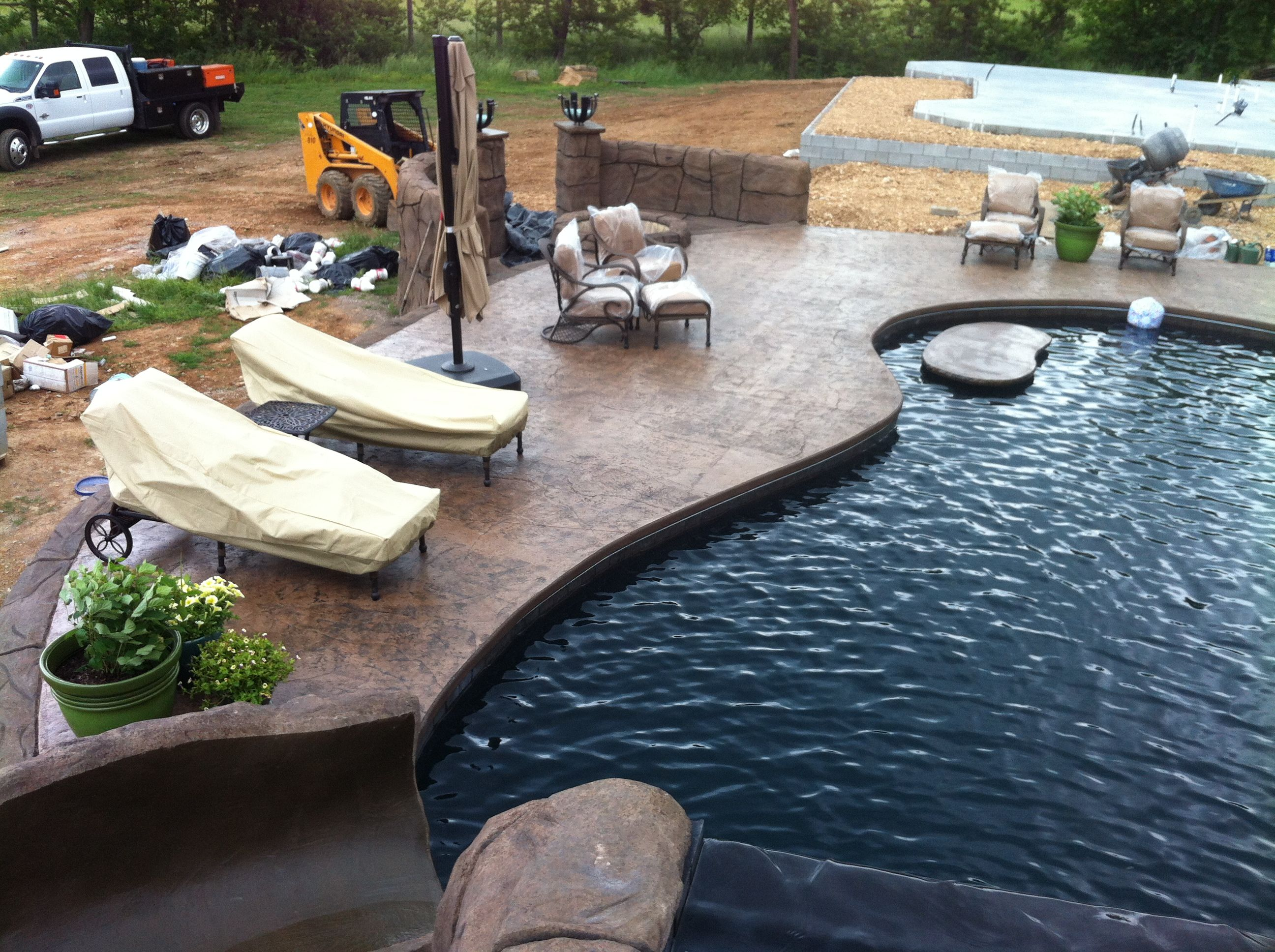concrete coatings for swimming pool deck images shotcrete