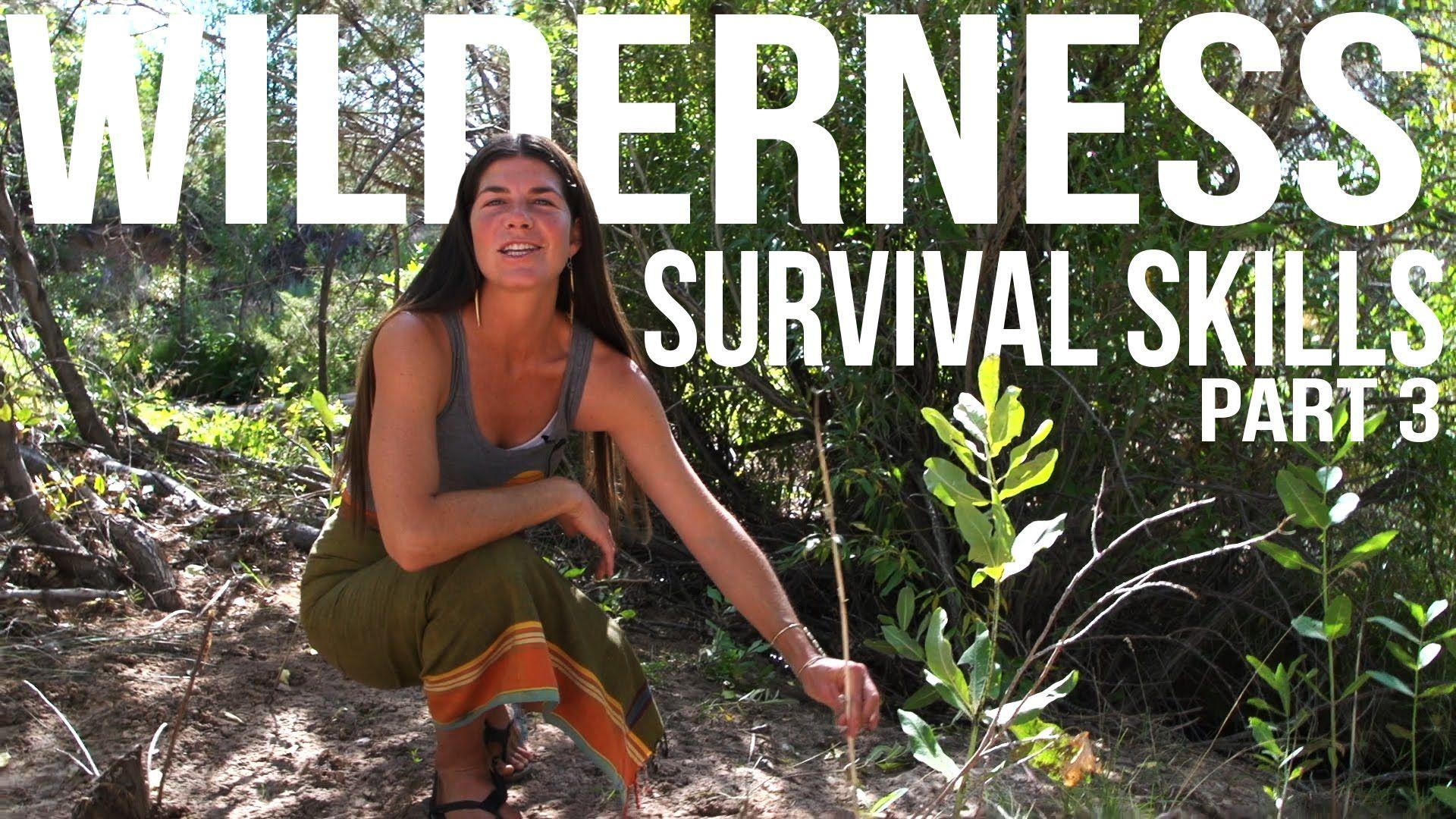 Wilderness Survival Skills Pt 3/4: Hand Drill, Tarp Shelter, & Resource ...