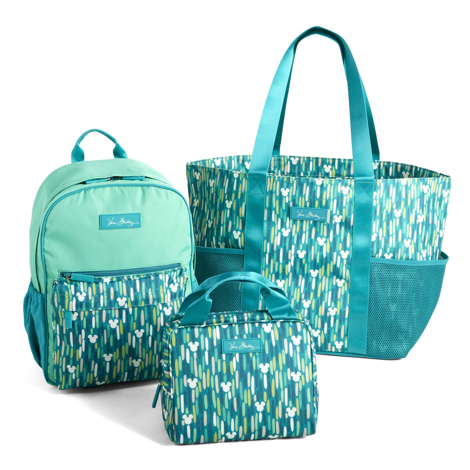"857900cbd7e3 Disney Vera Bradley- The ""Mickey Showers"" color will be offered in three  lightweight"