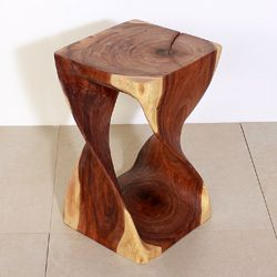 Overstock Com Online Shopping Bedding Furniture Electronics Jewelry Clothing More Monkey Pod Wood Twisted Oak End Tables