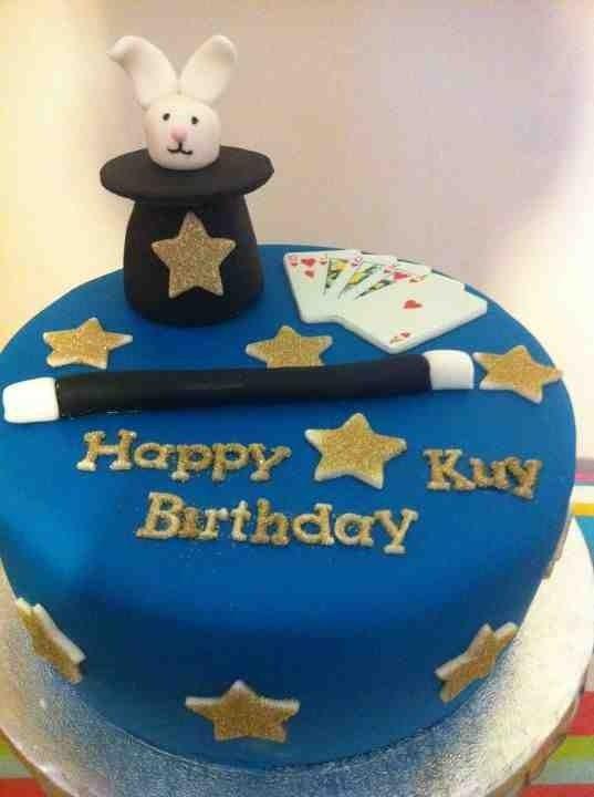 Magic Birthday Cake | Magic Party Theme Cakes in 2019 | Magic ...