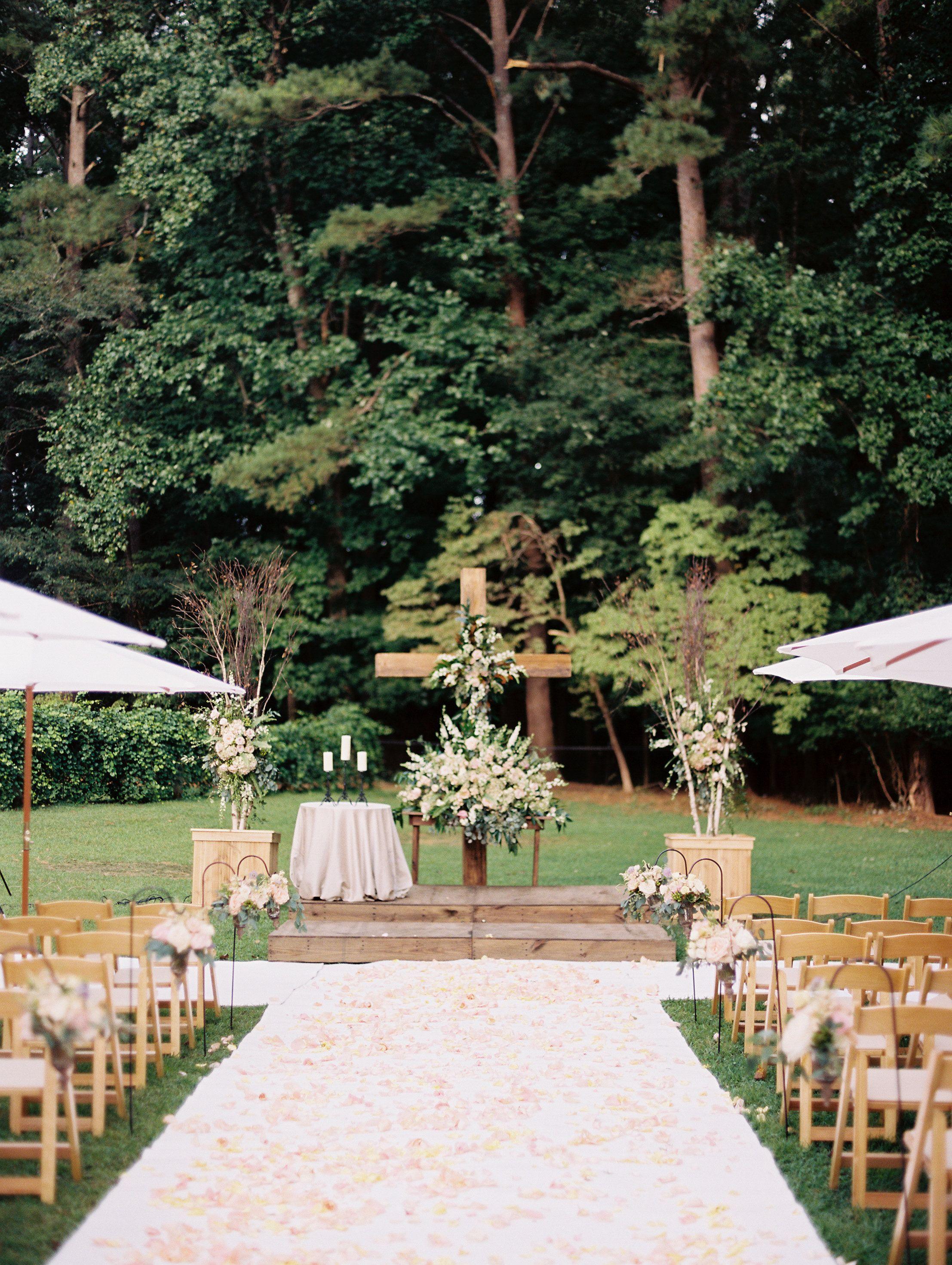 Wedding Ceremony | Little River Farms | Georgia Wedding ...
