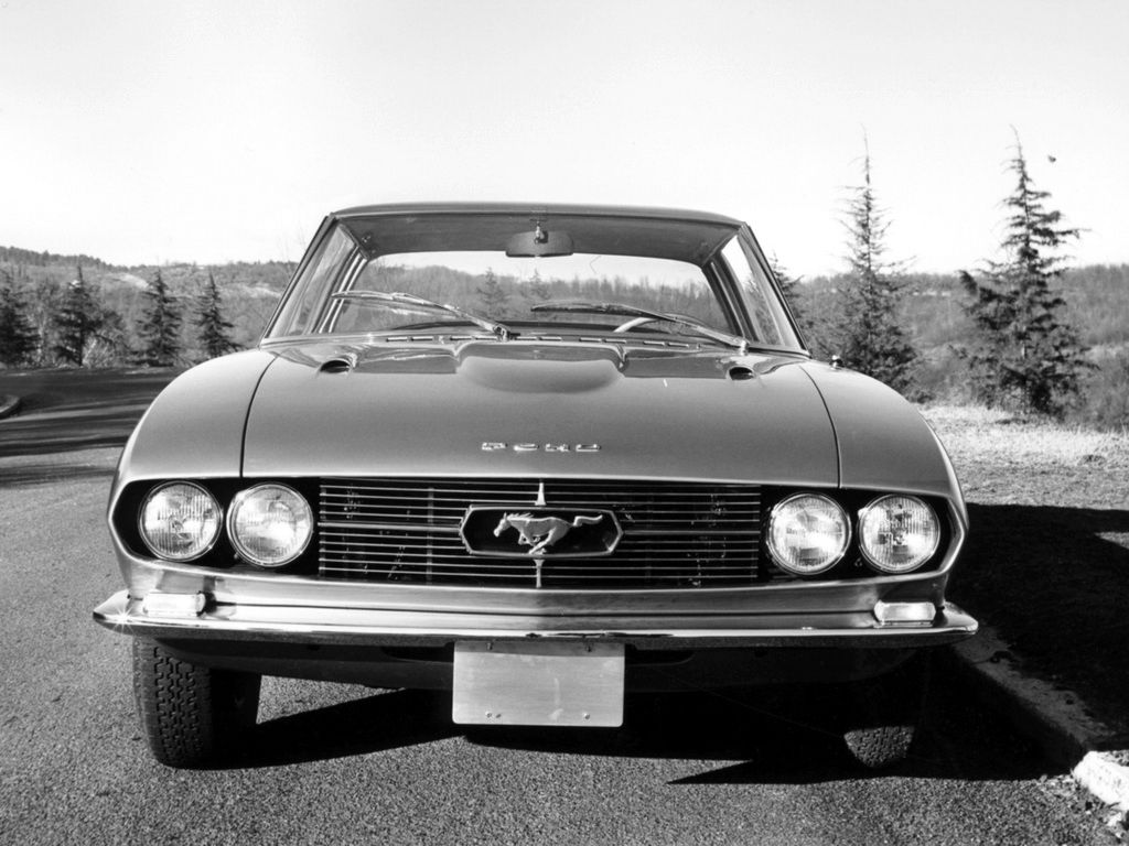 Fab Wheels Digest F W D 1965 Ford Mustang 2 2 Prototype By Bertone Ford Mustang Mustang Ford Mustang History