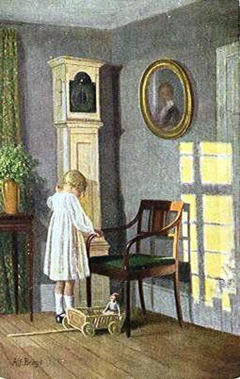 By Karl Harald Alfred Broge.  So cute. :)