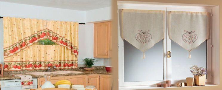 cortinas de cocina cl sicas y modernas buenas ideas