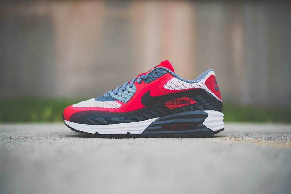 the best attitude ba1e6 fb096 Nike Air Max Lunar90 C3.0 (Dark Grey, Black   Uni Red)
