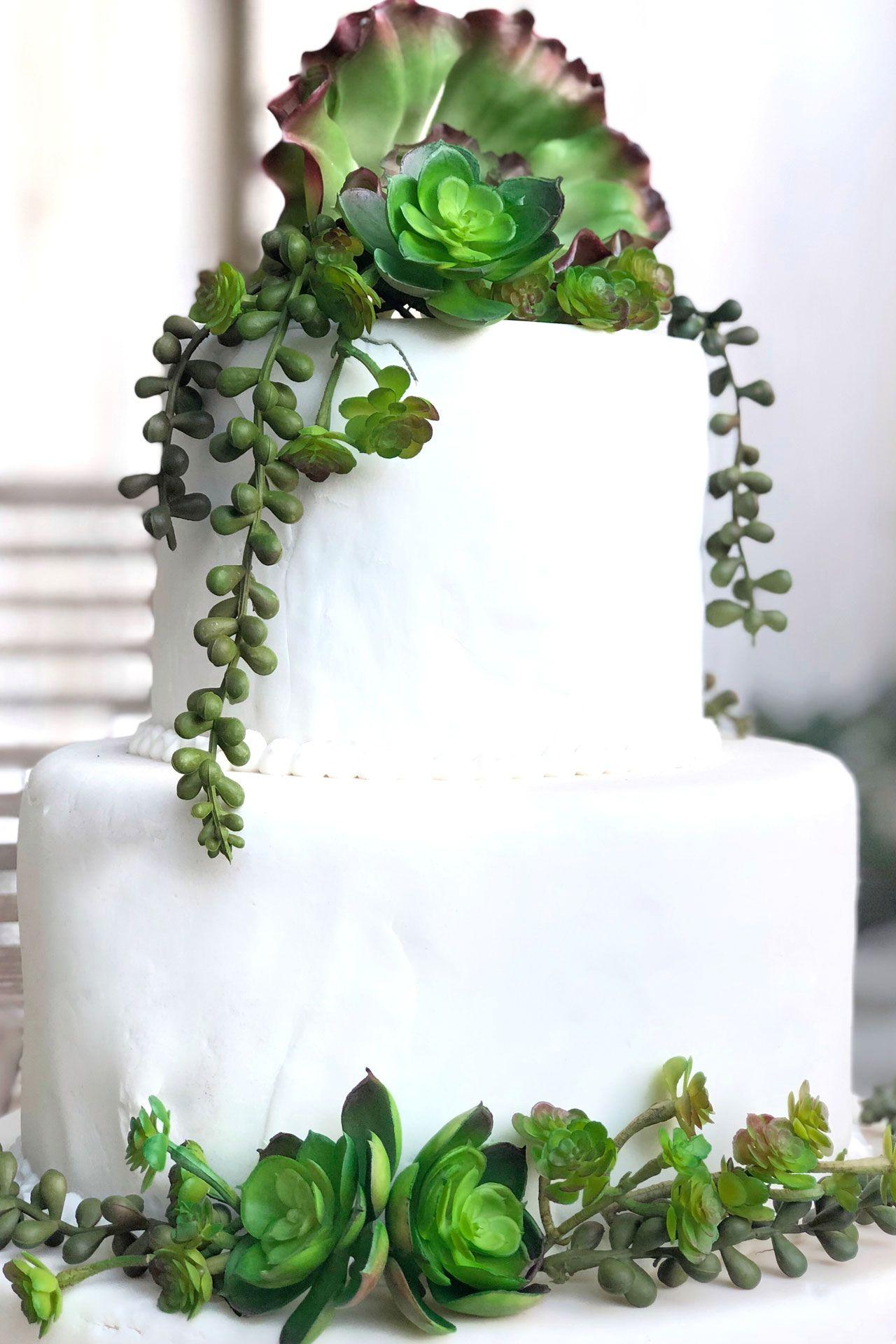 Succulent Cake Decorations Succulent Cake Wedding Cake Decorations Flowers Wedding Cakes With Flowers