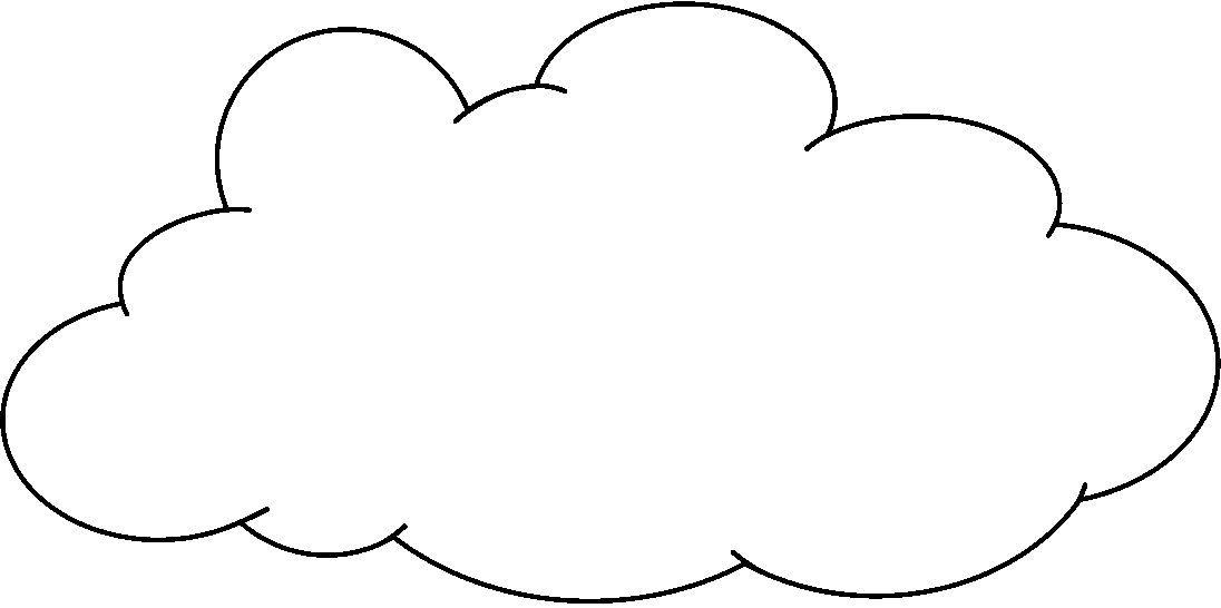 Dibujos para colorear: EL TIEMPO (Nublado) en 2020   Dibujos para ...