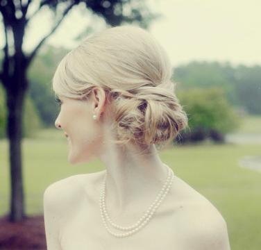 Classy Updo Wedding Hairstyles - MODwedding