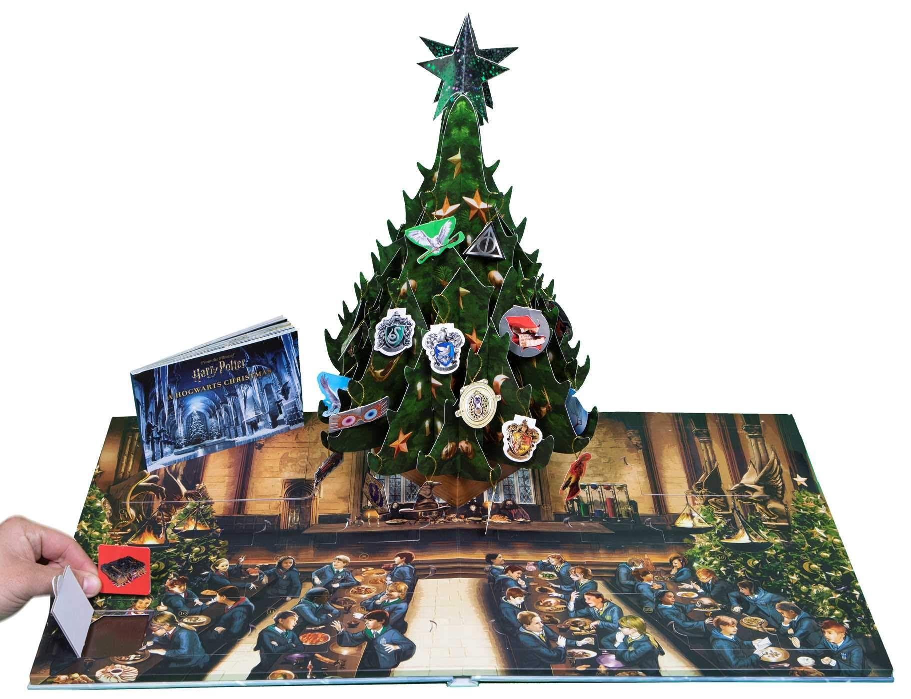 Harry Potter: A Hogwarts Christmas Pop-Up (Advent Calendar): Insight Editions: 9781683839002 ...