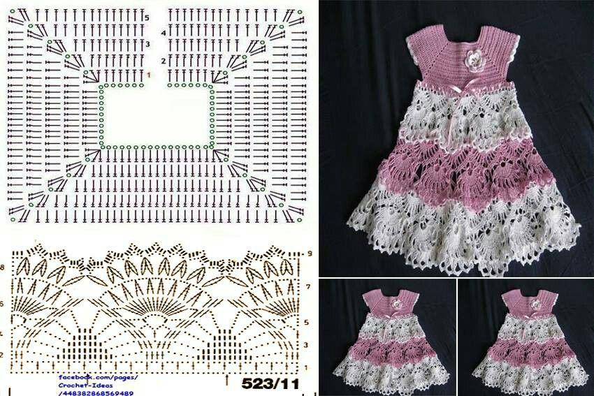 Vestido crochet | Decoracion | Pinterest | Decoración
