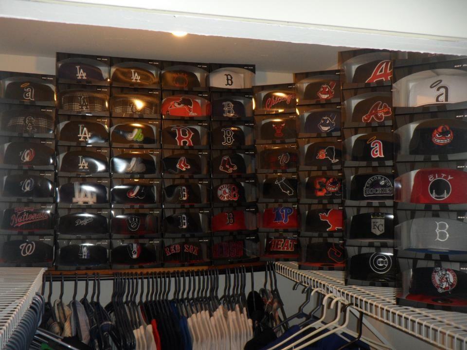 A cap storage idea from new era fan jeff b ball cap