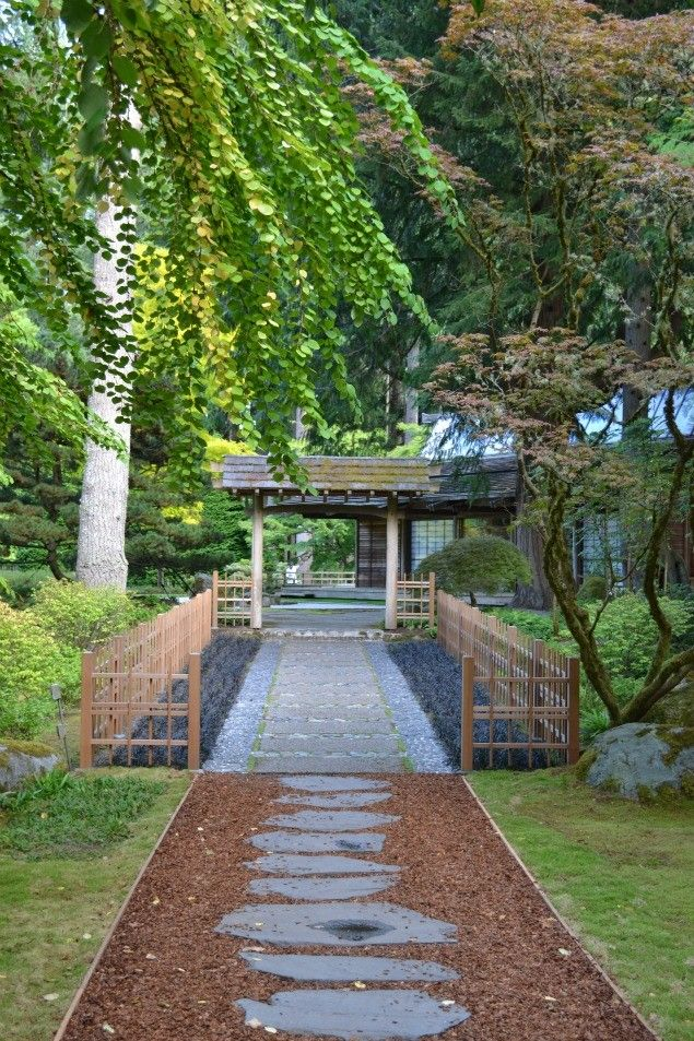 Japanese Gardens At The Bloedel Reserve On Bainbridge Island, WA