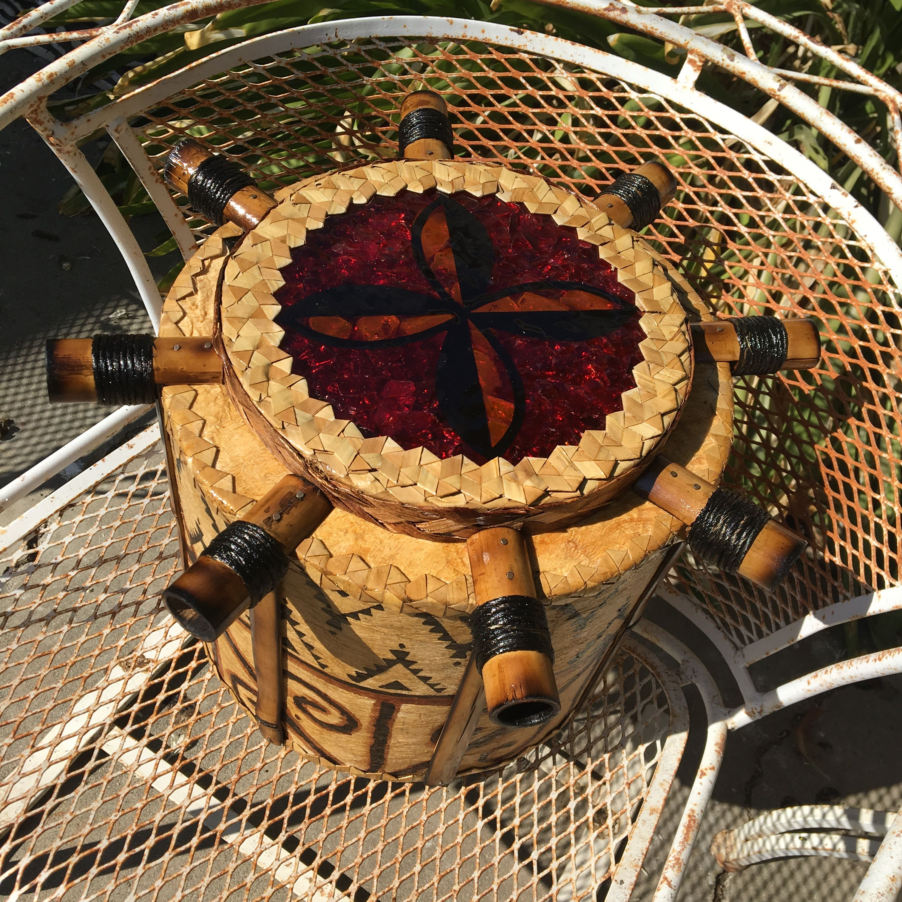 Inspiration Photo Tiki Hut: Pin By Chad Greenwood On Tiki Lamps I've Made (With Images