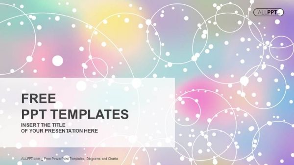 abstract light background with colorfull powerpoint templates 1