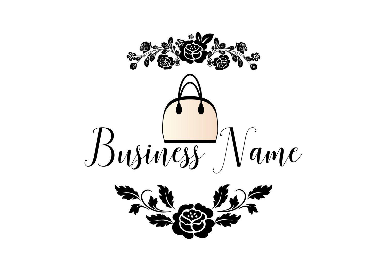 Custom logo design,bag purse logo, fashion bag logo design
