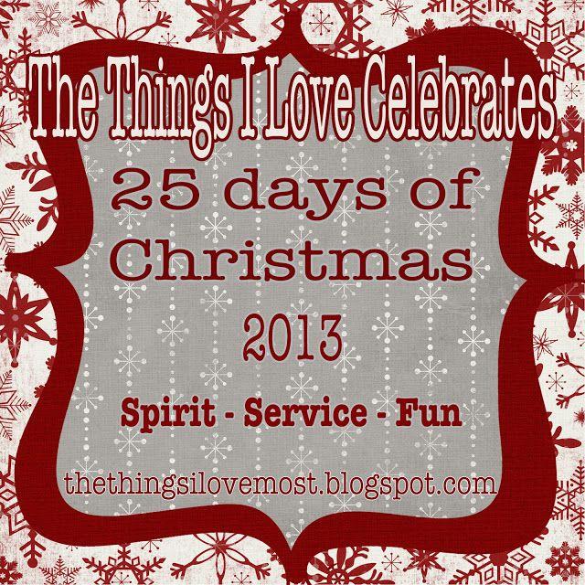 25 days of christmas spirit service and fun ideas to do for Christmas spirit ideas